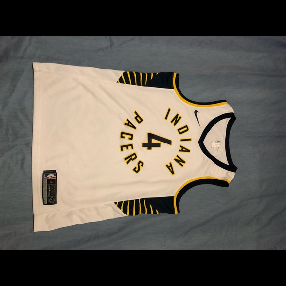 NBA rare tiger claw design Indiana Pacers jersey